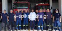Στην Πυροσβεστική Υπηρεσία Βέροιας ο βουλευτής Τάσος Μπαρτζώκας – Συνεχάρη το προσωπικό για την άρτια αντιμετώπιση των συνεπειών της πρόσφατης θεομηνίας