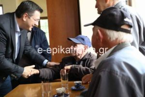 Πρόγραμμα παροχής υπηρεσιών αυτόνομης διαβίωσης και ασφαλούς γήρανσης σε 3.000 ηλικιωμένους από την Περιφέρεια Κεντρικής Μακεδονίας