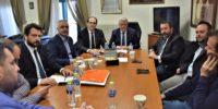 Σύσκεψη με θέμα την Επαναλειτουργία του Εργοστασίου της Ελληνικής Βιομηχανίας Ζάχαρης στο Πλατύ, πραγματοποιήθηκε χθες στο Δημαρχείο Αλεξάνδρειας