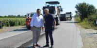 Συνεχίζονται τα έργα οδοποιίας στους δήμους Βέροιας και Αλεξάνδρειας