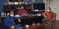 Συνάντηση για θέματα που απασχολούν τους αγρότες της Ημαθίας στο γραφείο του αντιπεριφερειάρχη