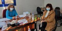 Επίσκεψη της βουλευτή του ΣΥΡΙΖΑ-ΠΣ Ημαθίας Φρόσως Καρασαρλίδου στον ΕΛΓΑ Ημαθίας