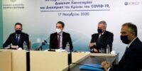 Επίσκεψη Κυρ. Μητσοτάκη στο ΥΠΕΣ: Δέσμευσή μας να αλλάξουμε το σύστημα της απλής αναλογικής στην αυτοδιοίκηση
